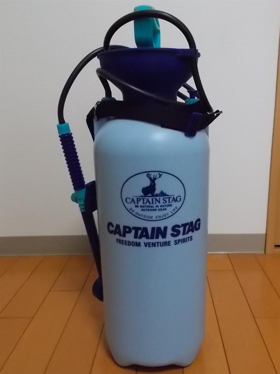 CAPTAIN STAG ポンピングシャワー(洗車用)