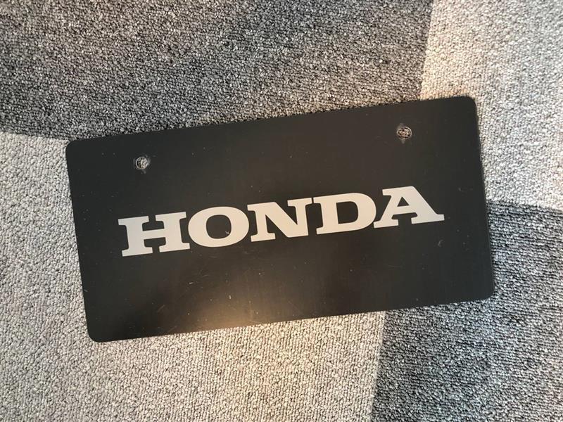 ホンダ(純正) HONDAマスコットナンバープレート