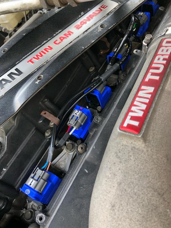ヤフオク 車両配線無加工 BCNR33 260RS パワトラレス ダイレクトイグニッションコイルハーネス & ダイレクトイグニッションコイル フルセット GT-R