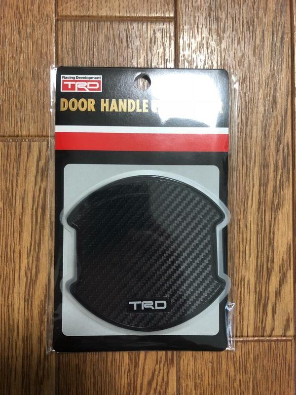 TRD / トヨタテクノクラフト ドアハンドルプロテクター