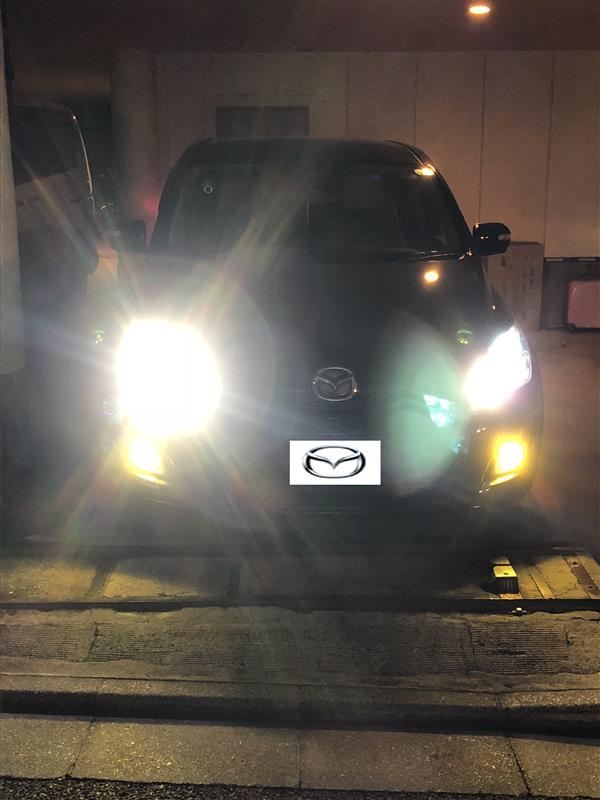 メーカー・ブランド不明 四面発光 ハイビーム 新型COB 高輝度LEDチップ 6500K【14000lm HB3】