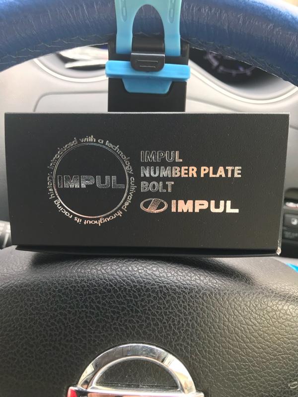 IMPUL ナンバープレートボルト