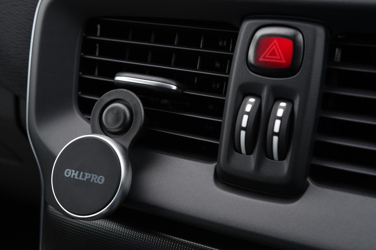 OHLPRO スマホホルダー 車載スタンド マグネット式