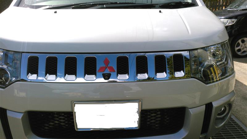 AUTO FLAGS MITSUBISHIエンブレム