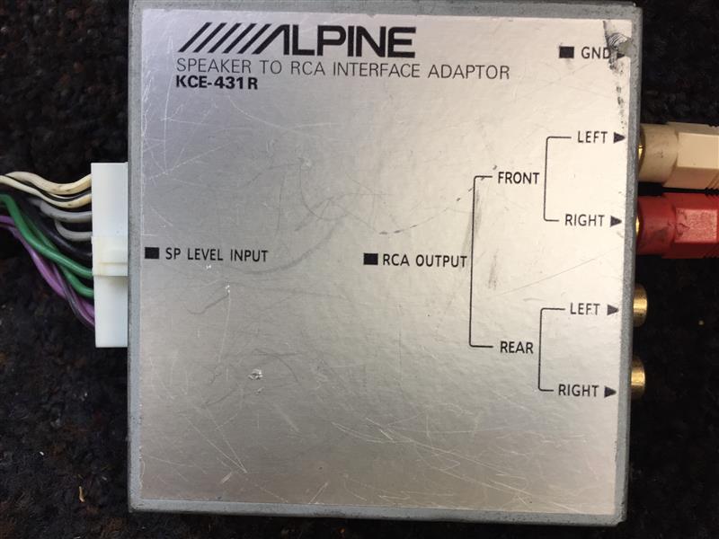 ALPINE KCE-431R