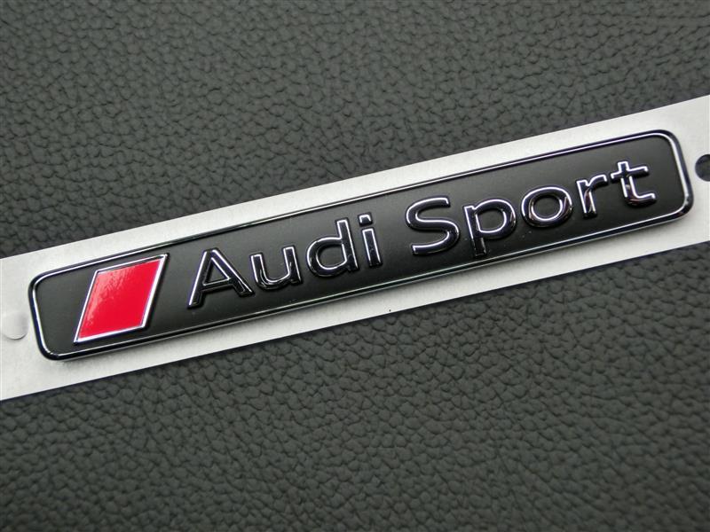 Audi純正(アウディ) Audi Sport エンブレム