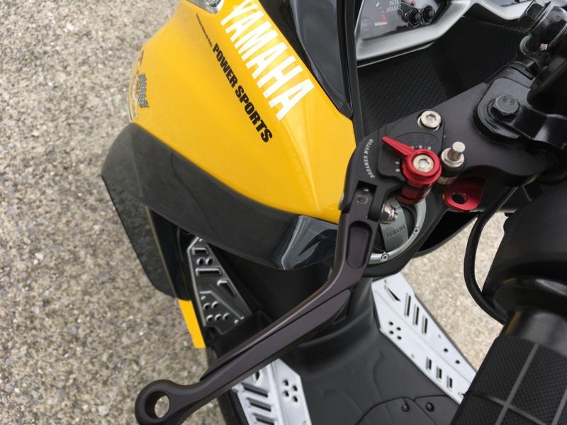 DREMER MOTOR アジャスタブル パーキングブレーキレバーセットTYPE2