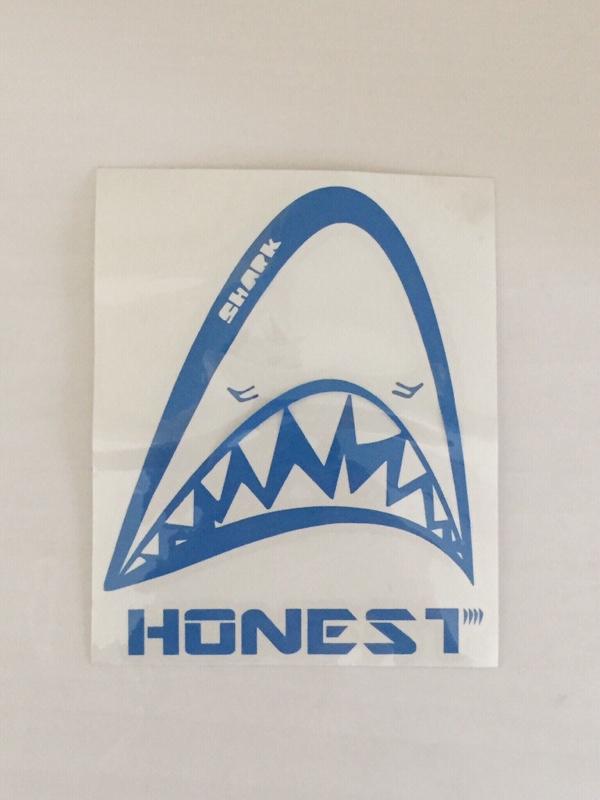 HONEST sharkステッカー