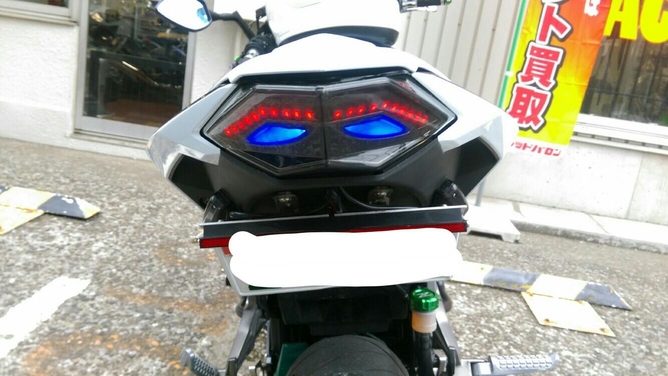 メーカー不明 ウィンカー一体型LED テールランプ