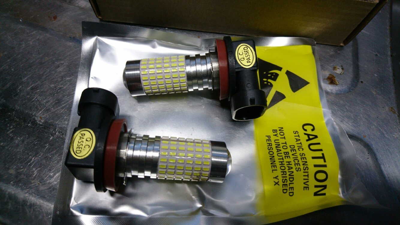 AMBOTHER H11 LED1200lm/個 8W 3014 144SMD 2400lm  ホワイト