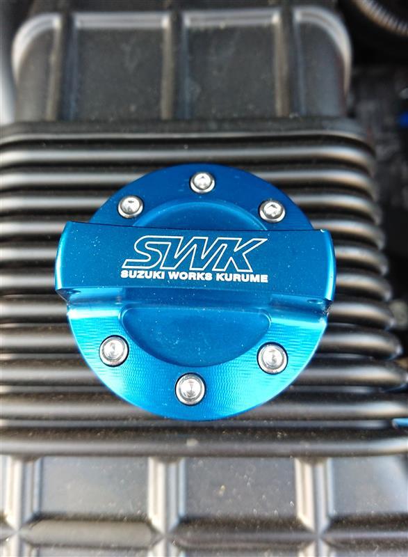 SWK / スズキワークス久留米 ワンタッチオイルフィラーキャップ