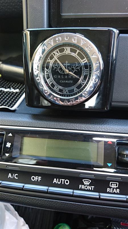 CAR MATE 汎用時計