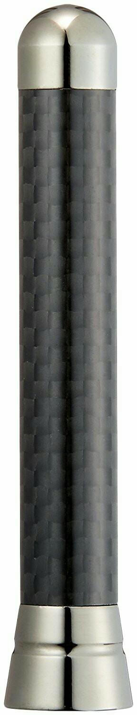 ユーロパーツ ショートアンテナ リアルカーボン スズキ ハスラー14.131S PAXAMR31S PAXATCB