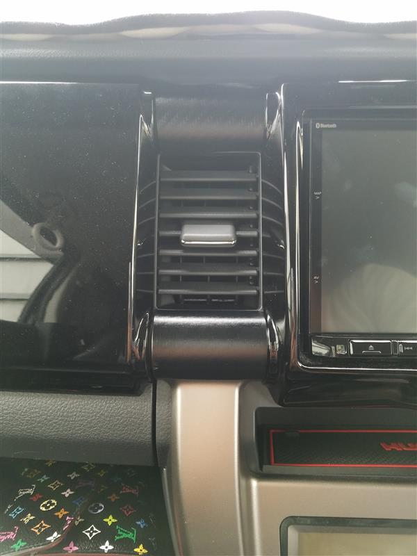 オリジナル エアコンベゼルカーボン調