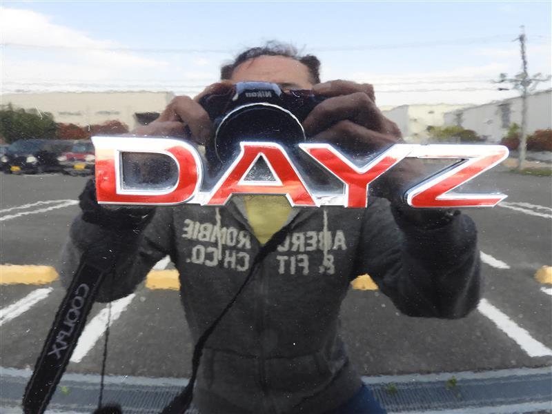 松印 エンブレムフィルム T1 車名エンブレム用 デイズ B21A 【カラー:クリアレッド】