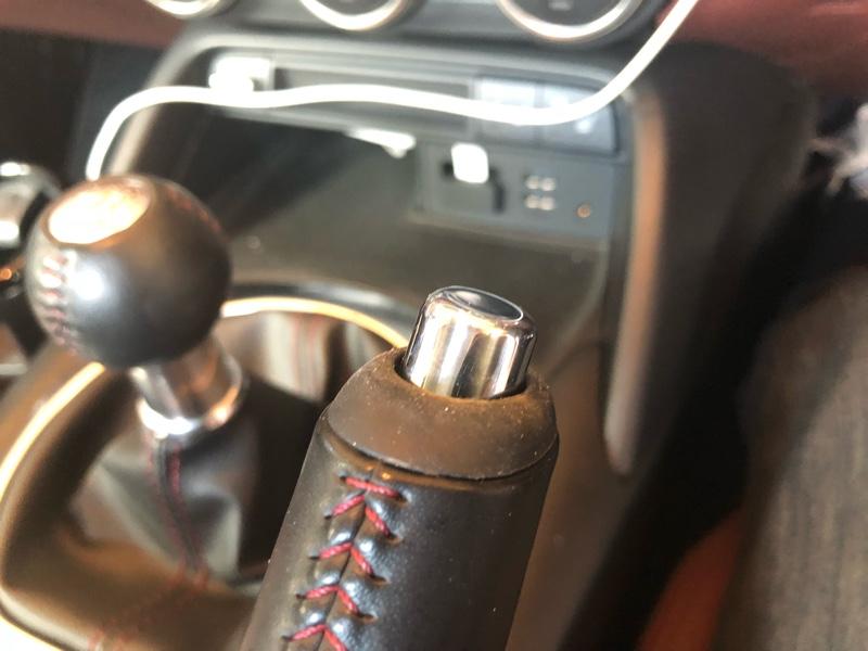 I.L. Motorsport サイドブレーキボタン クロム