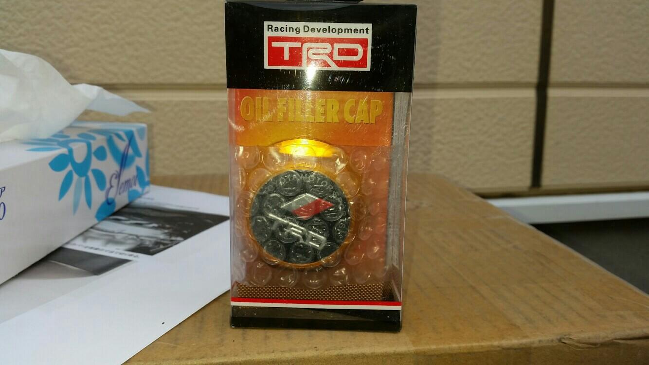 TRD / トヨタテクノクラフト オイルフィラーキャップ