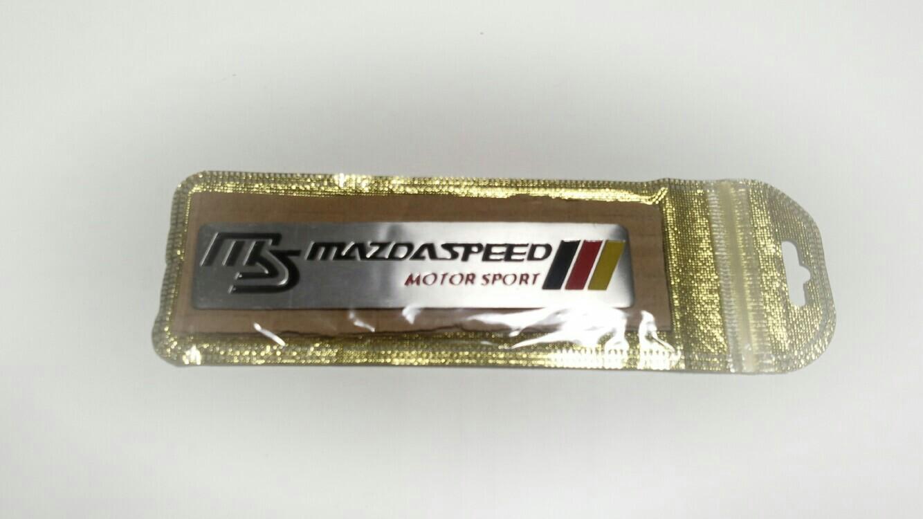 大陸製 MAZDASPEEDエンブレム