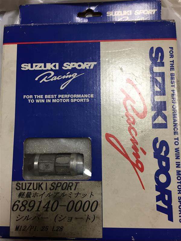 SUZUKI SPORT / IRD SUZUKI SPORT Racing SUZUKI SPORT Racing 軽量ホイールナットショート