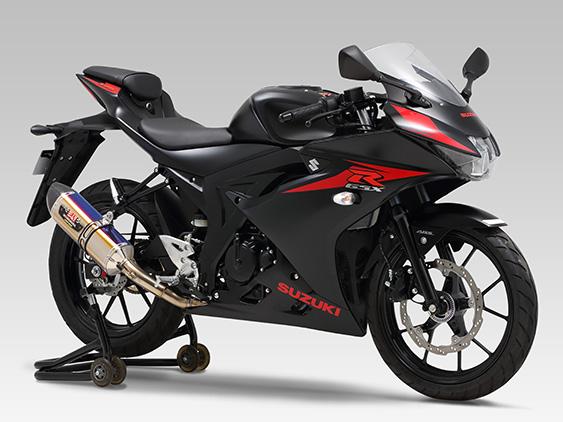 ヨシムラ 機械曲R-77S サイクロン カーボンエンド EXPORT SPEC 政府認証