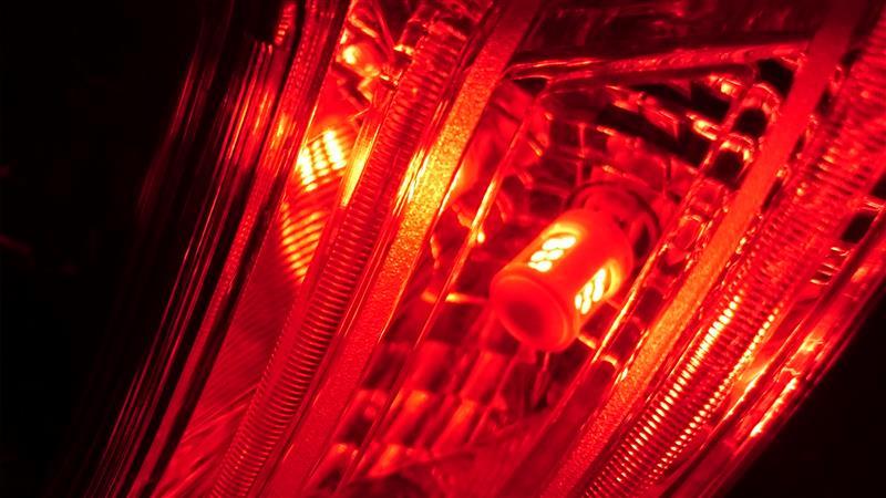 PHILIPS テールランプ ストップランプ LED バルブ T20シングル (W21W) レッド 12V 2.7W アルティノン Ultinon LEDシリーズ