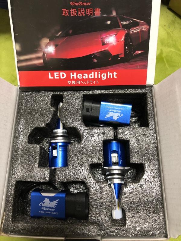 WIn Power HB3/9005 車用LEDヘッドライト 6500K