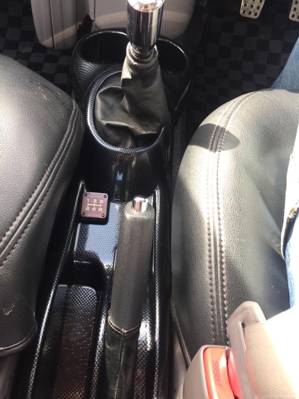 トヨタ(純正) センターコンソール カーボン調加工