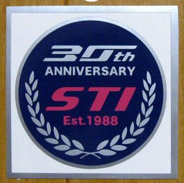 HIDE-SPEC-Cさん特製 STI創立30周年シルバー・ハイウェイブルー・チェリーピンク W70
