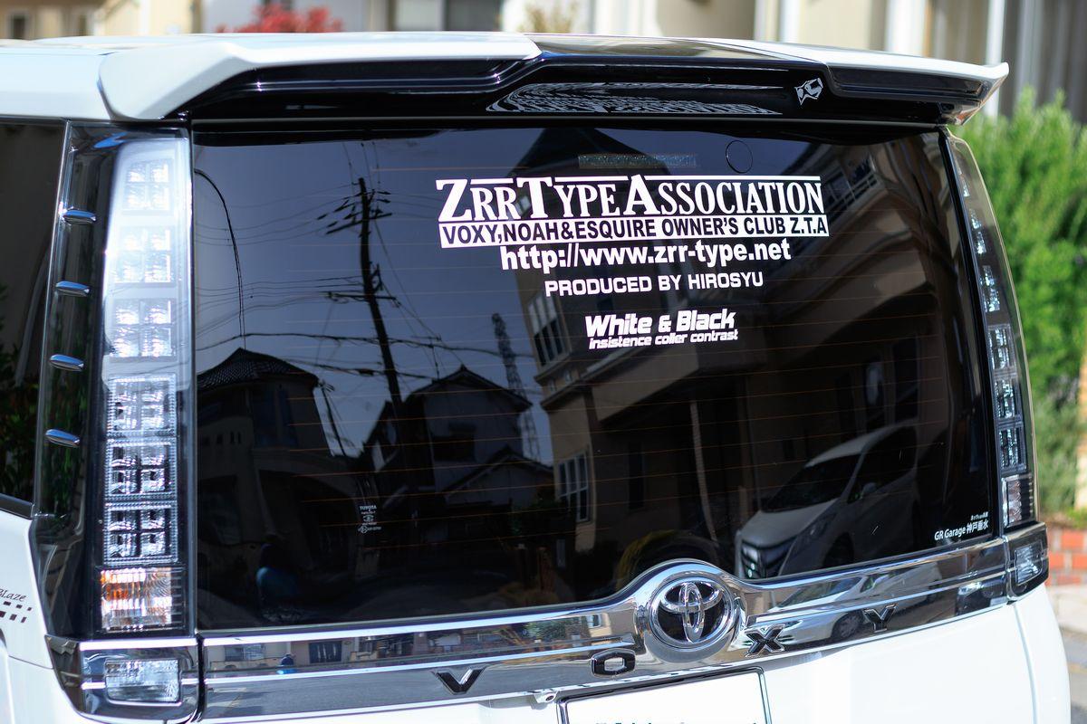 Z.T.A Type-1 デカステッカー