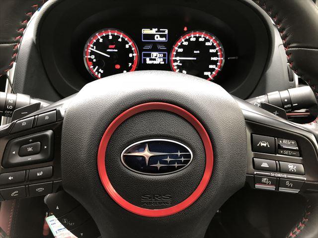 無し Audi ステアリング センター 装飾リング レッド K001-28