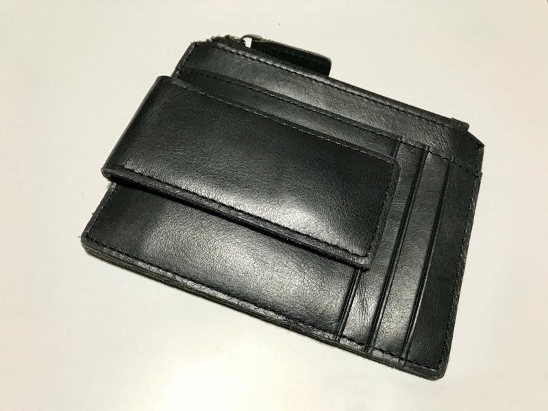 パボジョエ Pabojoe カード入れ カードケース 財布 メンズ 皮小銭入れ付き  名刺入れ スキミング防止 薄型 軽い コンパクト ホルダー ブランド 多機能 ブラック