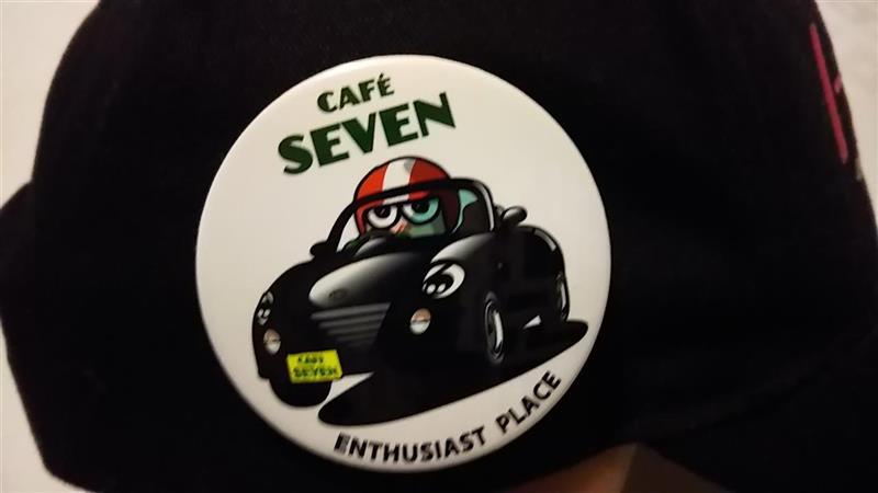 CAFE SEVEN CAFE SEVEN オリジナル缶バッチ