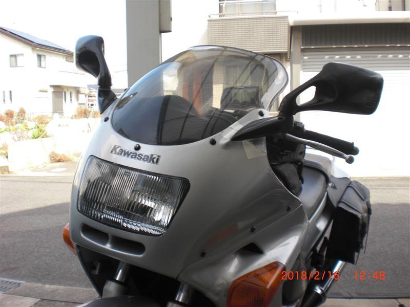 メーカー・ブランド不明 ZZR250  ダブルバブルスクリーン クリアー