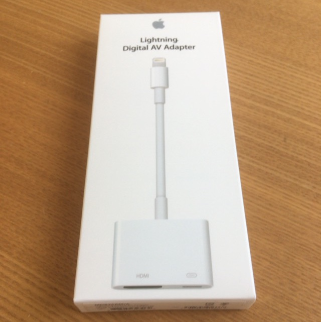 Apple Lightning - Digital AV アダプタ