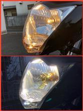 ジクサーSTREET CAT LEDヘッドライト 冷却ファン内蔵の全体画像