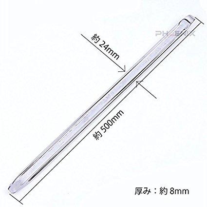 メーカー・ブランド不明 タイヤレバー 約50cm 銀 3本セット