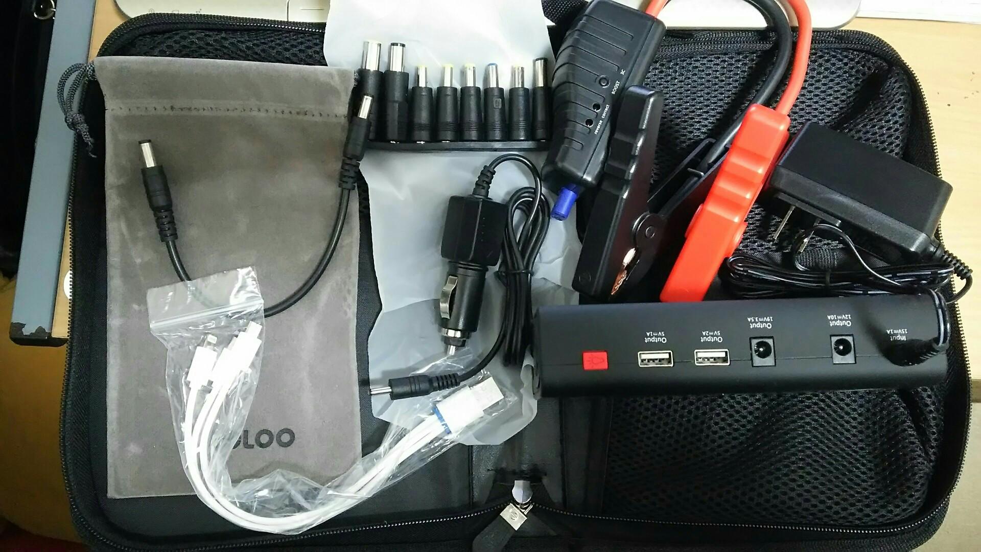 GOOLOO GOOLOOGP3715000mAhカージャンプスターター/モバイルバッテリー