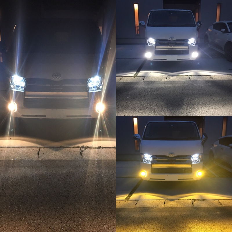 IPF LED DUAL COLOR FOG LAMP BULB