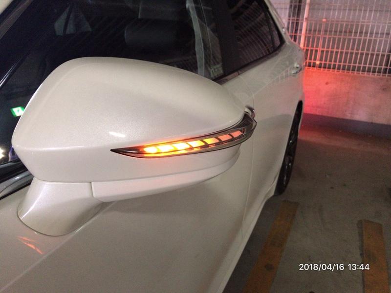 Revier 流星バージョン ウインカーミラー用LEDウインカーレンズキット