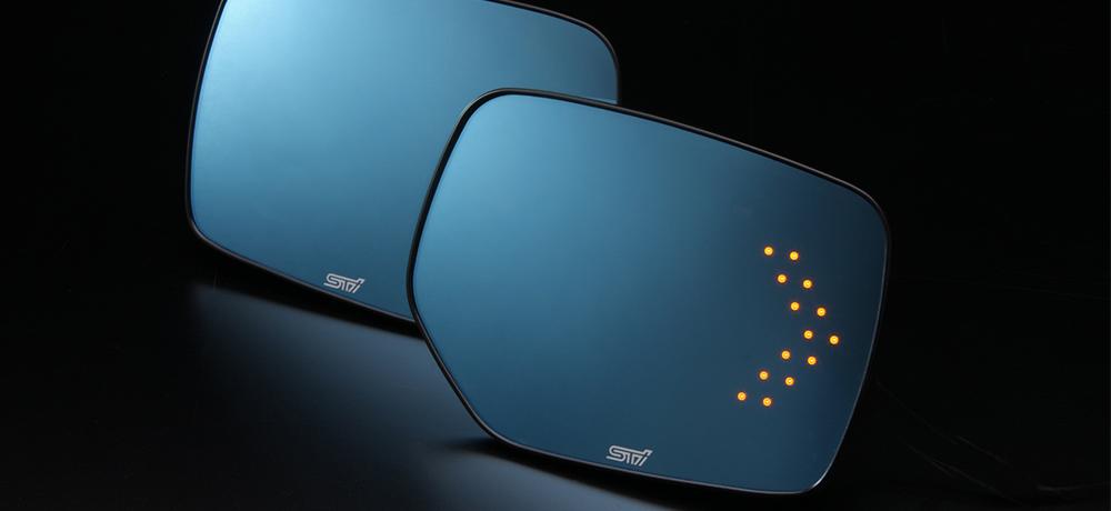 STI アンチグレア ドアミラー(LED)