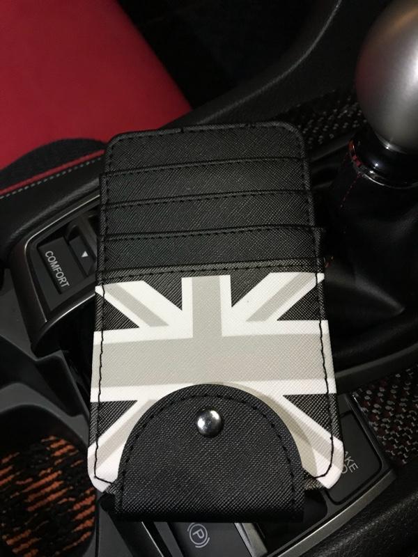 358 products BMW MINI ミニ サン バイザー カバー カード 収納 ケース (ブラックジャック)