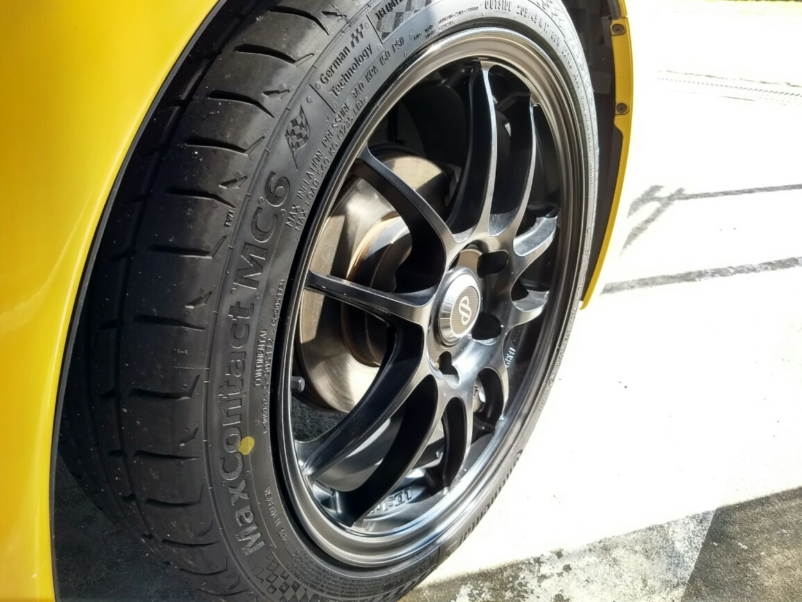 Continental Maxcontact MC6 205/45R17