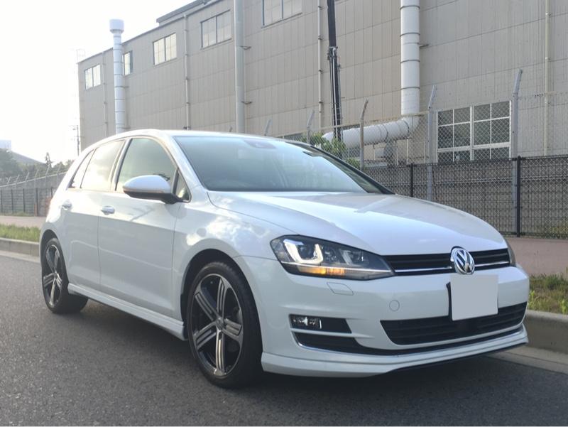 VW  / フォルクスワーゲン純正 ゴルフ7R 純正18インチ