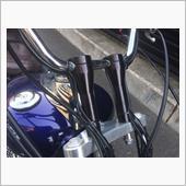 ガレージT&F ハンドルポスト 6インチ ブラック