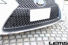 LCRUN RIOT/LEMS グリルモールロアドライカーボンクリア済の全体画像