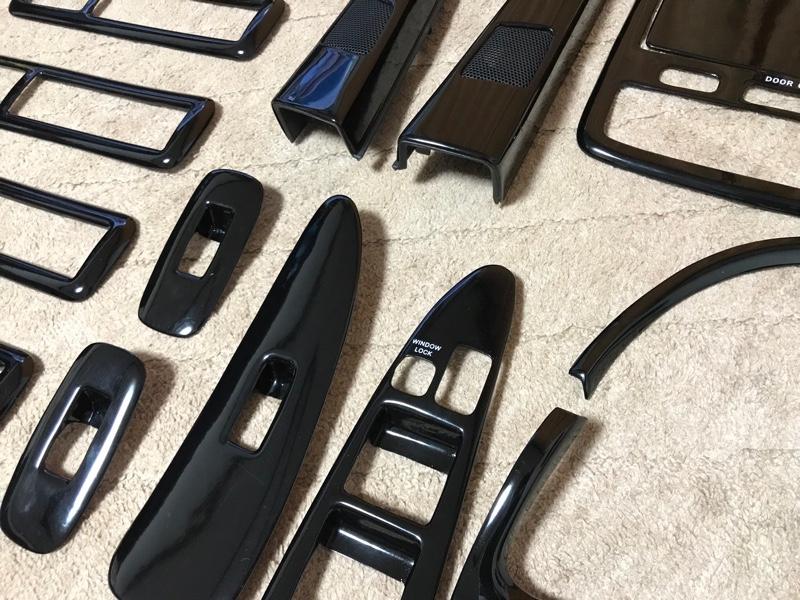 SAMURAI PRODUCE 3Dインテリアパネル 13P ピアノブラック