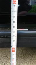 レガシィツーリングワゴンSTI スカートリップの全体画像