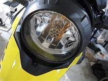 V-Strom 250不明 LEDライトの全体画像