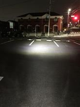 クロスカブDELTA DIRECT MOTO LEDヘッドライト H4/HS1 6100K 800lm D-1640の全体画像