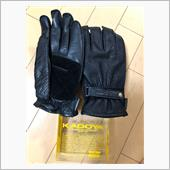 KADOYA K'S LEATHER NKG-2 MESH
